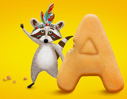 Packaging design of children's cookies