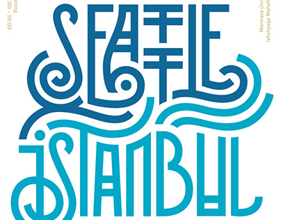 The Seattle-Istanbul Poster Show