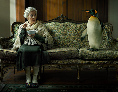 LADY AND THE PENGUIN