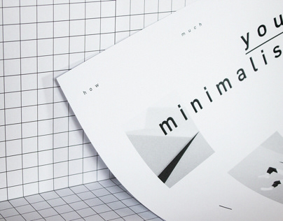 HOW MUCH IS YOUR MINIMALISM newsletter