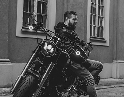 Motorcycle shoot, Old Town