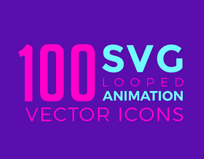 SVG Animation Icons Pack