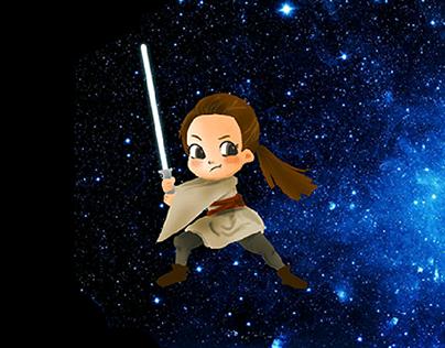 Star Wars-人物插畫創作