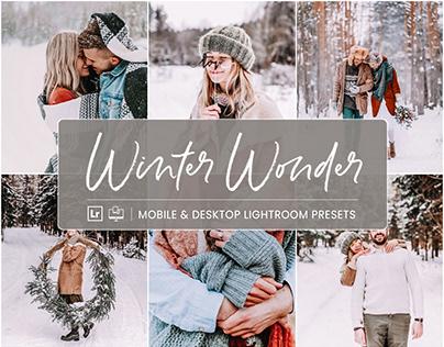 Winter Wonder - Mobile & Desktop Lightroom Presets