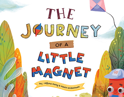 """""""The Journey Of A Little Magnet"""" children's book"""