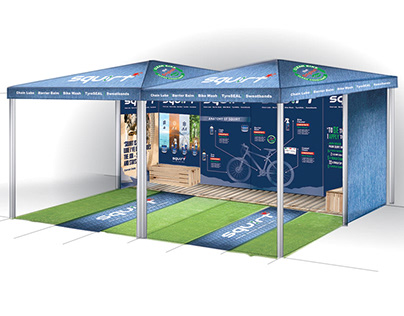 SQUIRT LUBE EXPO STAND DESIGN