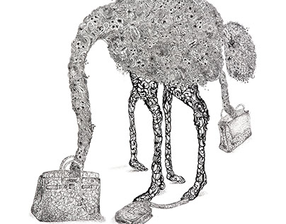 The Ostriches of Hermes.