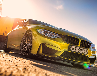 BMW M4 Competition Photoshoot