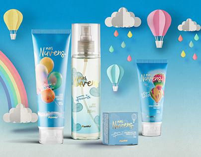 Nas Nuvens - Package Design
