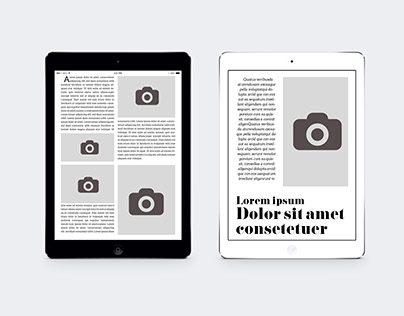 Ipad&Tablet 100 Pages Magazine Template