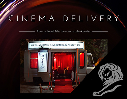 """""""VAN"""" CINEMA DELIVERY"""