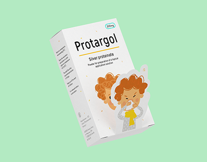 Protargol. Medicine for children