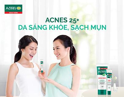 Acnes 25+ - Da sáng khoẻ, sạch mụn