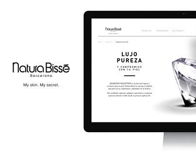 Natura Bissé | Web Redesign 2013