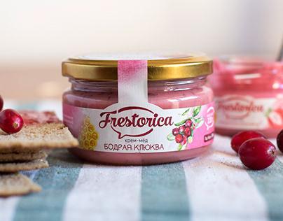 Логотип и упаковка для крем-мёда
