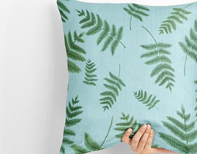 Ferns - Textile pattern