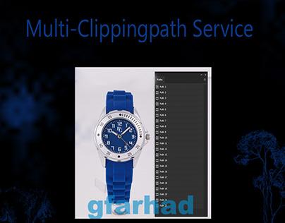 Multi-Clipping Path Service