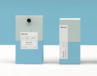 Ducray Sensinol - Rebranding