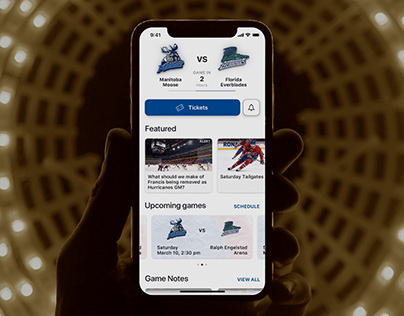 Sports teams fans engagement app for Fannex