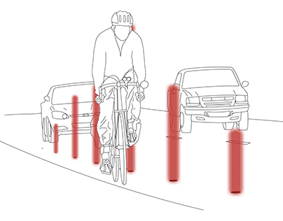 Motion Activated Cyclist Safety System