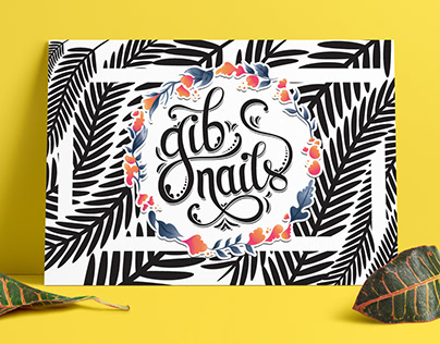Gib Nails | WordPress web design & visual identity