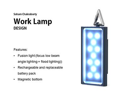 Work Lamp Design