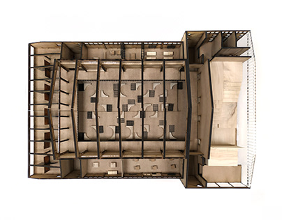 Architecture Model - U' Mércate