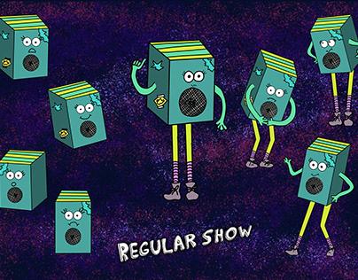 "Regular Show ""bassy"" karakteri!"