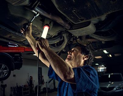 Documentary Photography -Mechanic