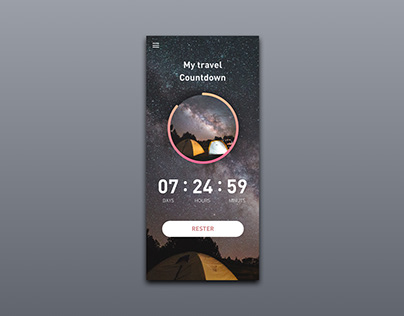 Daily UI 014 / Countdown Timer