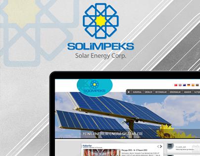 Solimpeks Solar Energy Corp. Web Arayüz Tasarımı