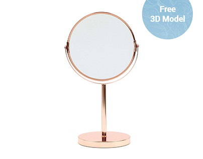Bloomingville Table Mirror FREE 3D Model