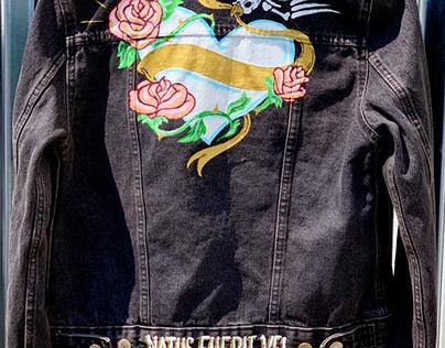Painted Moto Jacket