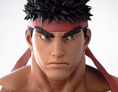 Street Fighter HD CGi
