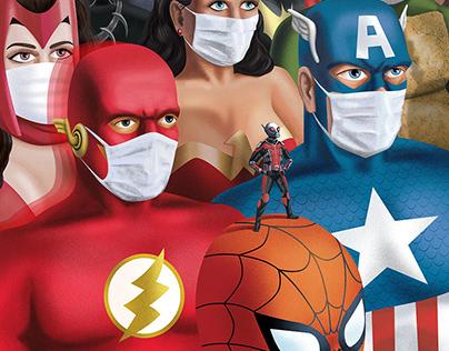 Be a Hero, Wear a Mask!