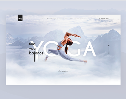 Landing Page Yoga