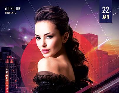 Club Vibe - PSD Flyer Template