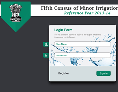 Login Form Design May 2015