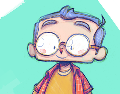 Gabin - Character Design