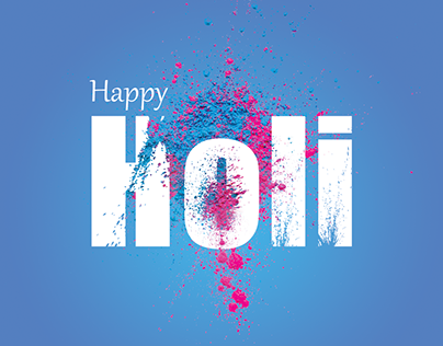 Holi : Festive Design