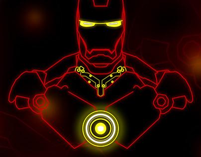 Marvel Charecter Illustration - Iron Man