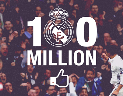 REAL MADRID 100 MILLION FANS CAMPAIGN