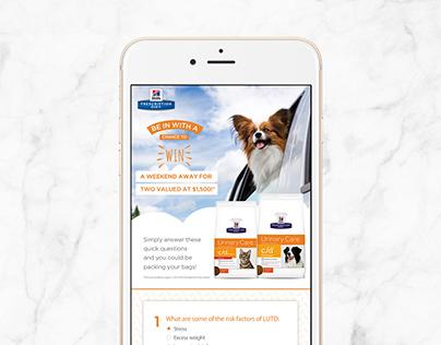 Hill's Pet Nutrition App Comps