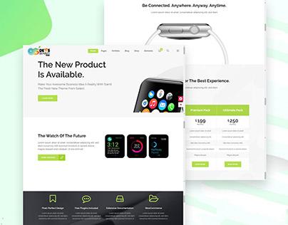 Start up Responsive Wordpress Website Design