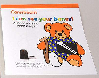 I can see your bones! (2530C) Coloring Book