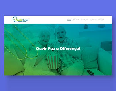 AudioCenter Uberaba - Layout e Site