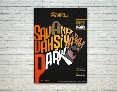Wild life park poster