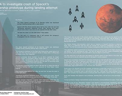 SpaceX Starship Crash Report