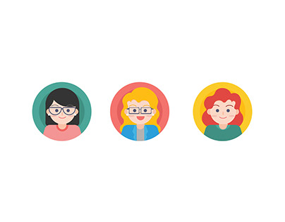 Custom Icon and Avatar | Graphic Design