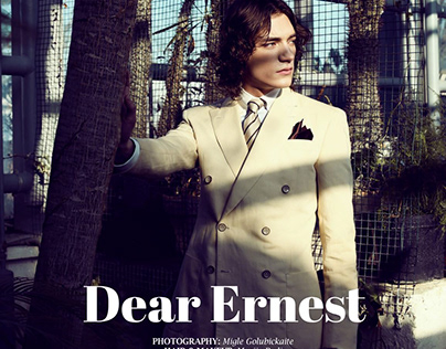 """Dear Ernest"" editorial for STELL magazine"
